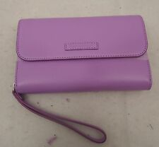 Vera Bradley Faux Leather Ultimate  Wristlet  Lilac  NWT