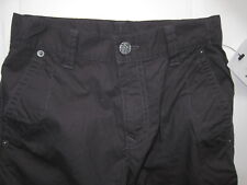 New Girls Marks & Spencer Black Trousers Age 7 - 8 Years