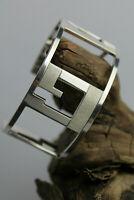 XXL Vintage Armreif Armspange GUCCI Italien 925 Silber bracelet