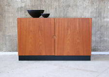 60er Teak Kommode Sideboard Mid-Century 60s Teakwood Cabinet Vintage