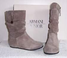 ARMANI  Velour Leder Stiefel Gr.31 NEU