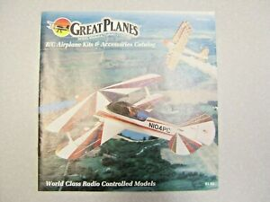 Vintage Great Planes RC Kits & Accessories Catalog 1994 Edition