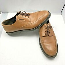 MEPHISTO Casual Dress Shoes Soft Brown Leather Lace Up Oxfords Mens Size 13