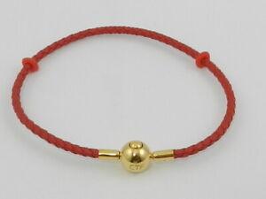 CHOW TAI FOOK Red Wristband/Bracelet