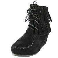 "New Style Women Cute Denim Floral Wedge Comfort Walking Athletic Shoe H.H 2.25/"""
