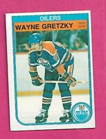 1982-83 OPC # 106 OILERS WAYNE GRETZKY EX-MT  CARD (INV# C9700)