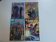 Hawkeye #1-4 (2003, Marvel) Avengers, Civil War, Defenders, Black Widow