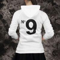 Women Hoodie COCO print Jacket Coat Sweatshirt Hooded Outerwear Tops Pullover MA