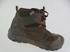 MERRELL Capra Mid Waterproof Brown Sz 2 Kids Hiking Boots