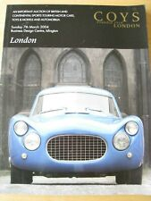 COYS OF KENSINGTON AUCTION CATALOGUE LONDON BUSINESS DESIGN CENTRE 2004 96 PAGE