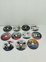 Lot Of 11 Playstation 2 Games Discs Only Madden, Spongebob, 007, guitar hero