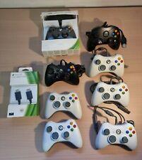 Lot De Manettes Xbox 360 + Accessoire Hdmi