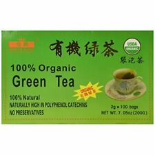 Royal King Green Tea 100 Tea bags USDA CERTIFIED ORGANIC