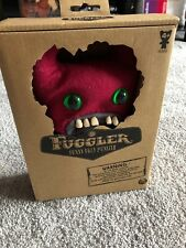 Fuggler Funny Ugly Monster 9 Inch Sir Horns A Lot Plush Creature Teeth RARE RED