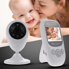 "2.4GHz Wireless Digital Baby Monitor Camera Video 2.4"" LCD IR Night Vision EU TL"