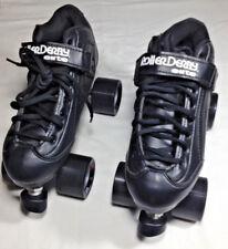 New Black Roller Skates - Roller Derby Stomp 5 Elite Size men 7 - woman 8