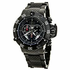 Invicta Men's Watch Subaqua Chronograph Black Stainless Steel Bracelet 4695