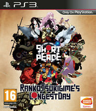 Short Peace Ranko Tsukigime's Longest Day PS3 Playstation 3 IT IMPORT NAMCO