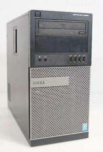Dell OptiPlex 9020 MT Intel i7-4770 3.4GHz 8GB 250GB HDD WIN8COA Fair No OS