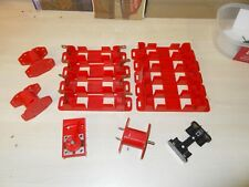 Meccano Battery Boxes, Electric Motor (Tested) & Spare Motor Cases And Switch