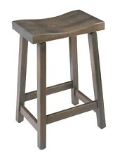 Urban Quarter Sawn Oak Stool in Counter and Bar Height - Multiple Stains