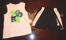 Boys Nike 2 piece outfit shirt shorts size 3T NEW NWT