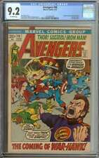AVENGERS #98 CGC 9.2 OW PAGES