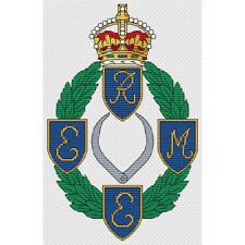REME Badge (Old Style) Cross Stitch Design (kit or chart)