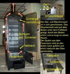 SMOKI - Räuchertechnik Smoki-Profiofen 150x50x50cm