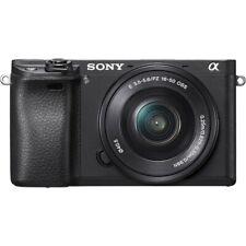Sony Alpha A6300 24.2MP 4K Mirrorless Camera w/ 16-50mm Lens + Extras FREE SHIP