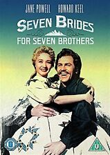 Seven Brides For Seven Brothers Jane Powell, Howard Keel NEW & SEALED UK R2 DVD