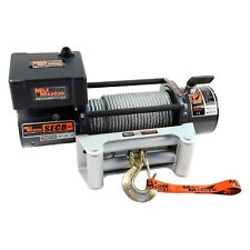 Mile Marker 77-50141W - 8000 lbs Waterproof Electric Winch with Steel Cable