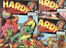 HARDY.  Lot des n°1 à 42.  Ed. Artima 1955-1958. Bel état, Série complète