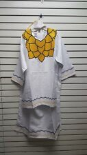 African Ethnic Clothes/3pc/Dashiki Skirt/Clothing C-Whitekl-Nc1