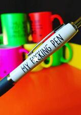 Profanity Pens -Cheeky Novelty Office  Secret Santa My F*cking Pen PEN19