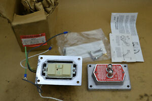 Crouse Hinds Ground Fault Circuit Interrupter Control 125Vac 20a Explosion Proof