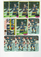 64 count lot mixed Marcel Dionne CARDS! LOADED with Vintage LA Kings HOF Center!
