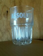 2 Absolut Rocks Bar Glasses - Heavy base