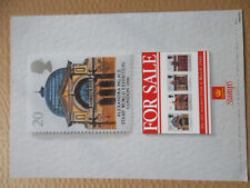 ROYAL MAIL A4 POST OFFICE POSTER LONDON STAMP WORLD EXHIBITION ALEXANDRA PALACE