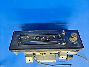79-83 DATSUN 280ZX  A/C HEAT AIR CONDITIONING CONTROL WITH LEVERS AND SWITCH
