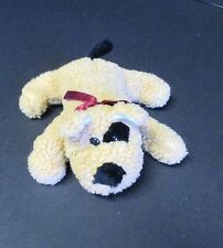 """Genich Int'L Plush Bean Bag Dog with Red Bow 6"""""""