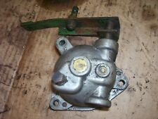 Vintage Oliver 55 Gas Tractor Engine Governor Arm Amp Cover Assembly