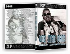 One Man Gang Shoot Interview Wrestling DVD, WWF UWF ECW