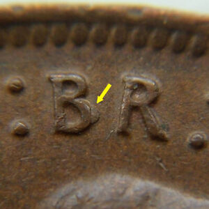 Australia Penny, 1943 (m)  -  MINT ERROR