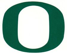 REFLECTIVE Oregon Ducks 2 inch Green fire helmet decal sticker yeti hard hat
