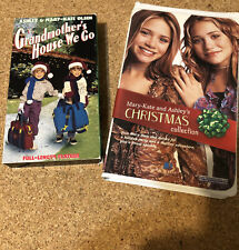 Mary-kate And Ashley Oldsen VHS Christmas Bundle