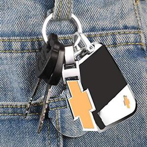 Car Chevy Logo Emblem Badge For Chevrolet Chevy Metal Keychain Key Chain New A+