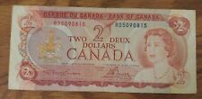 New listing 1974 Bank Of Canada 2 Dollar Bank Note Rd5090815 Nice Bill creased/no tears