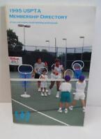 1995 USPTA MEMBERSHIP DIRECTORY of Men & Women Tennis Professionals Ppk BOOK