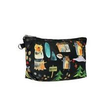 LeSportsac Classic Medium Sloan Cosmetic Make Up Bag in Hello Bears NWT